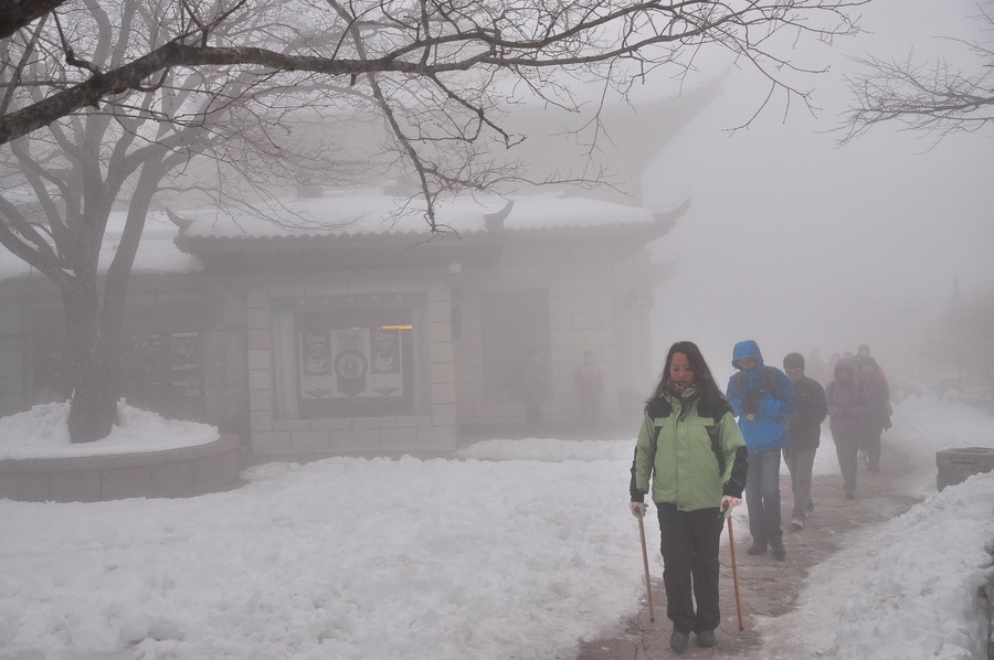 霧黃山10