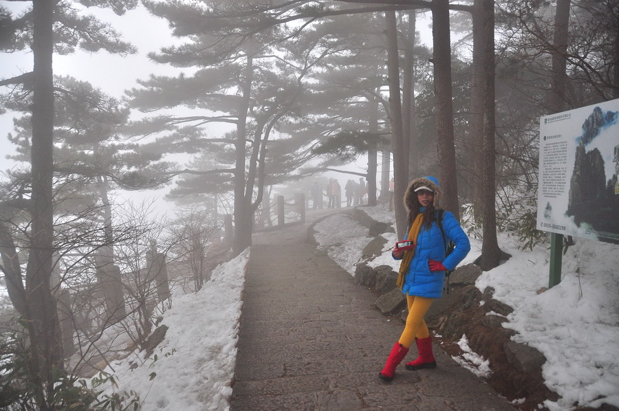 霧黃山11