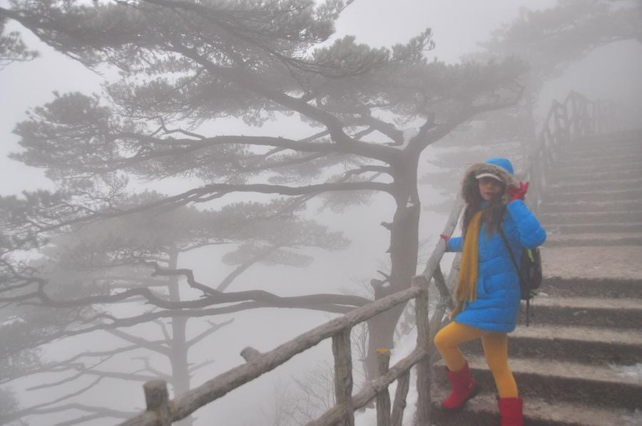 霧黃山21