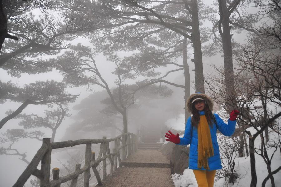 霧黃山22