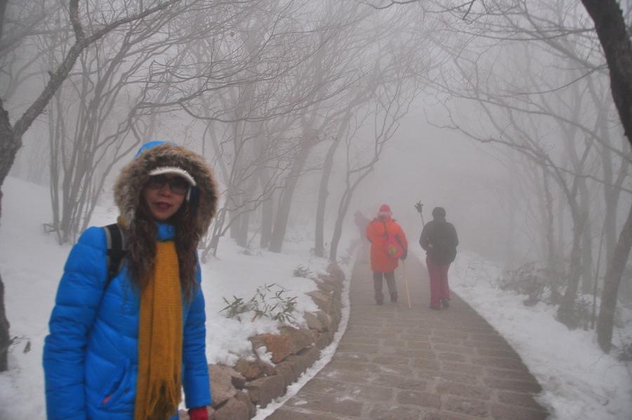 霧黃山24