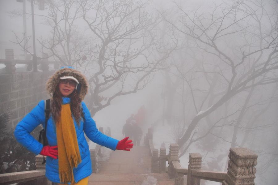 霧黃山25