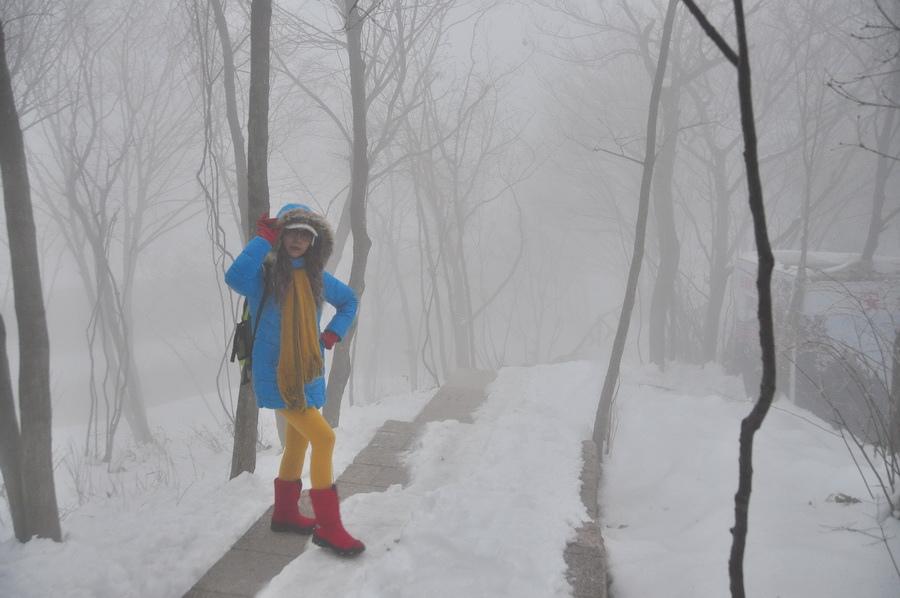 霧黃山27
