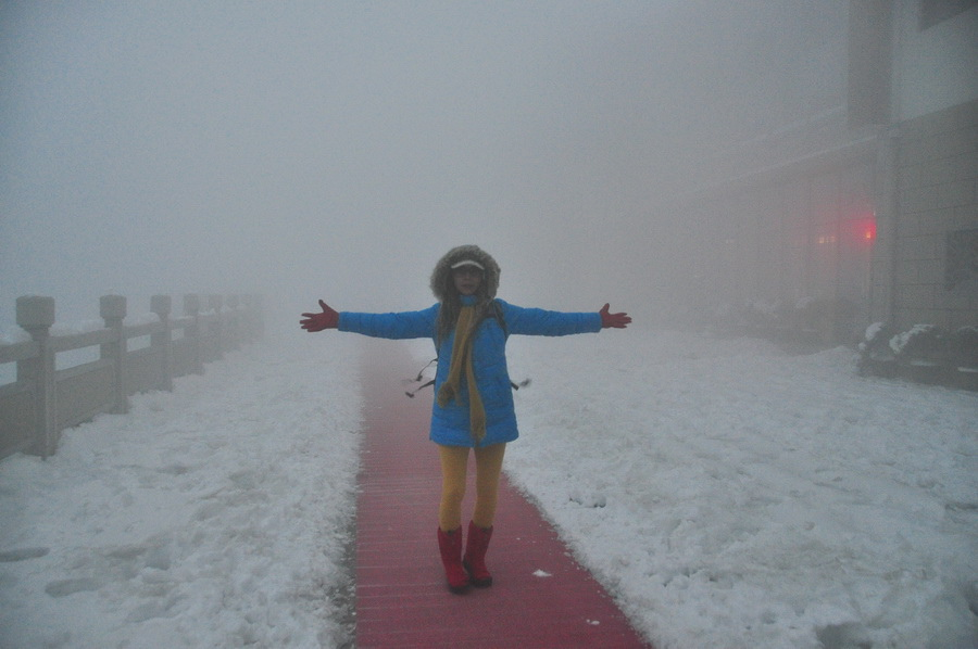 霧黃山28
