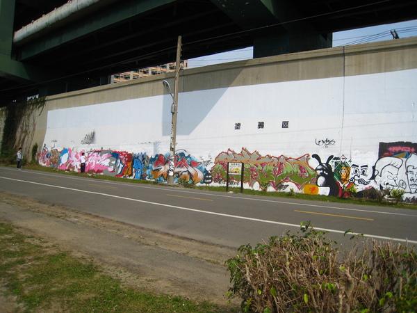 4.善意的單車道塗鴉區