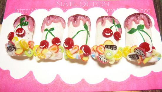 cherry 指甲片