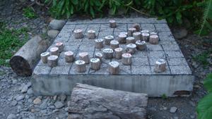 還可以下棋ㄟ~如果你拿的動的話!?