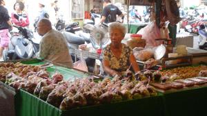 賣水果的阿婆