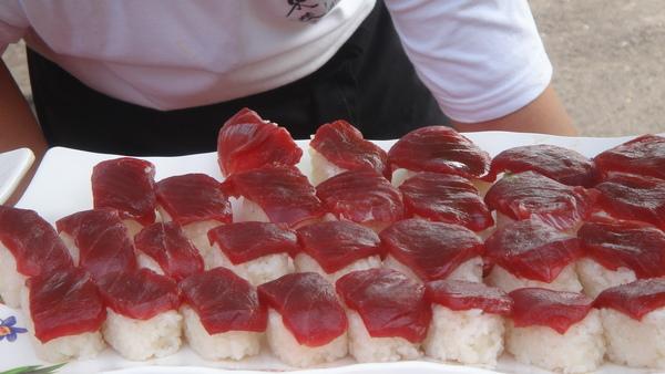 黑鮪魚壽司
