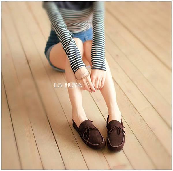 麂皮復古休閒鞋