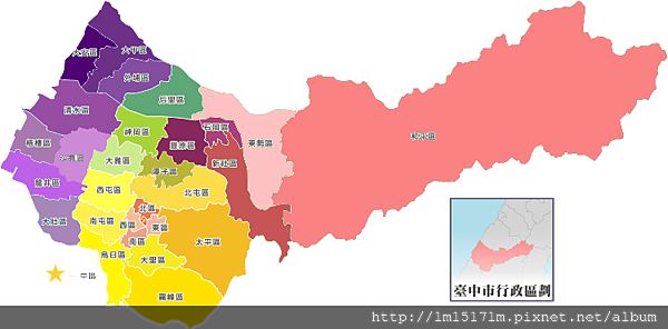 台中地區圖