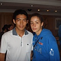 李政琦跟Monica De Gennaro