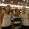 寒風,波蘭5號  Berenika Okuniewska 跟 波蘭8號  Katarzyna Skorupa
