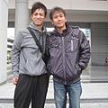 我跟帥氣田貴文老師@中一中-2