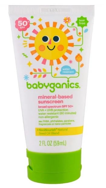 BabyGanics, 礦物防曬乳液-herb promo code PDQ369-2020最新iherb折扣碼 PDQ369  for HK/TW/CN/AU/PH/MY/US/MO/JP/RU/KR and worldwide