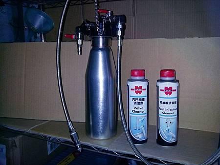 正(負)壓進氣系統除碳