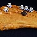 頂級台灣紅檜茶盤 A4