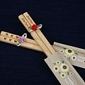 台灣檜木筷子(含雷射刻字)