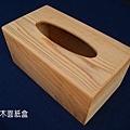 台灣檜木面紙盒
