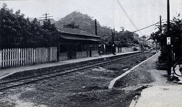 萬新鐵路公館站