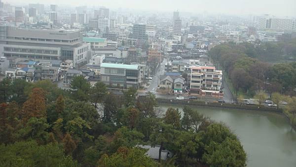 樓頂眺望名古屋