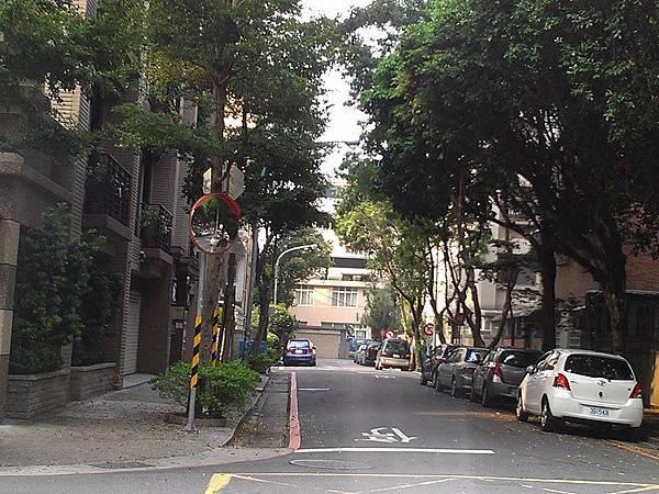 綠樹夾道的中央街