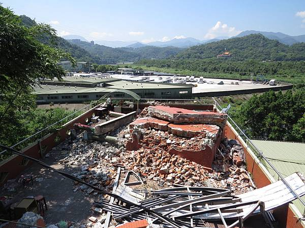 2014年指福土地公廟被拆卸