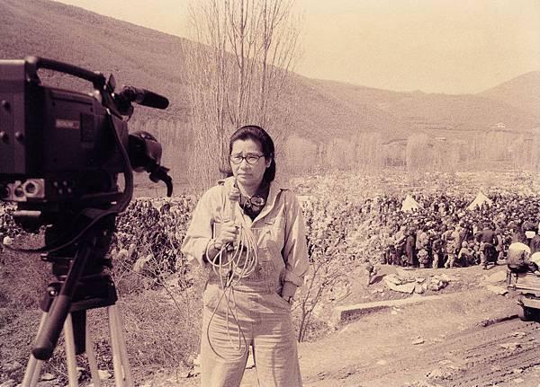 張桂越在馬其頓採訪