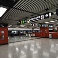 中環站港島線月台層
