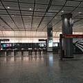 香港站機場快線收費閘門