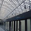 仁川機場站的月台
