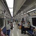 仁川機場鐵路全程車內部
