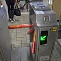 地鐵首爾站的驗票閘門