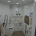 ITX列車的無障礙廁所