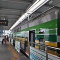 ITX列車抵達加平站