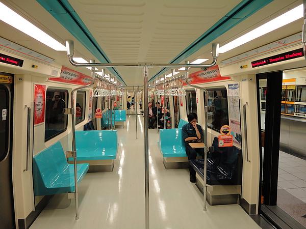 蘆洲線的列車