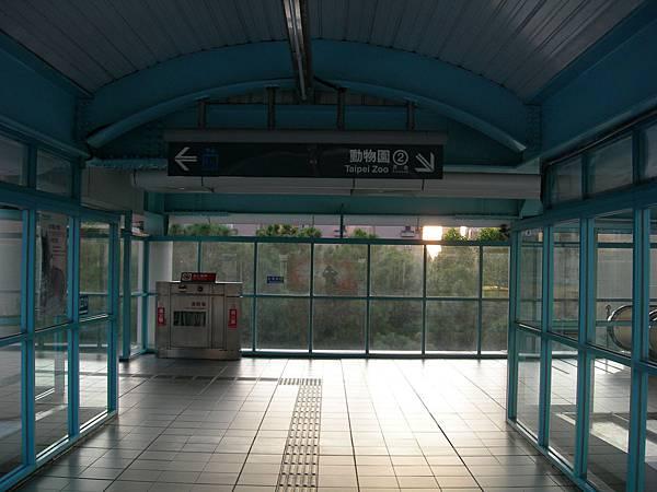 科技大樓站的天橋