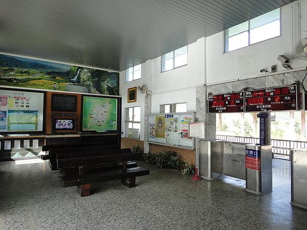 富里站大廳