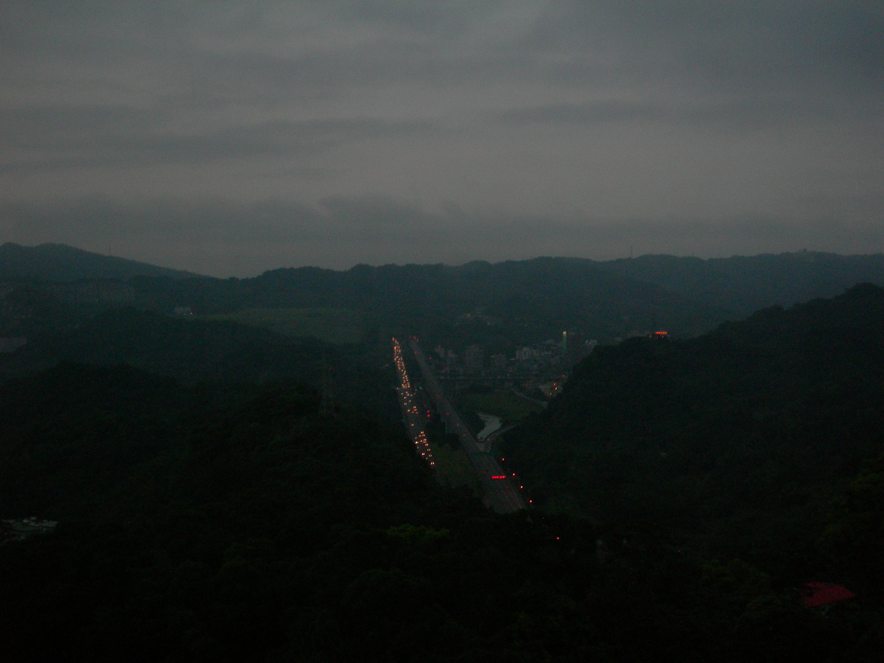 俯瞰國道3號
