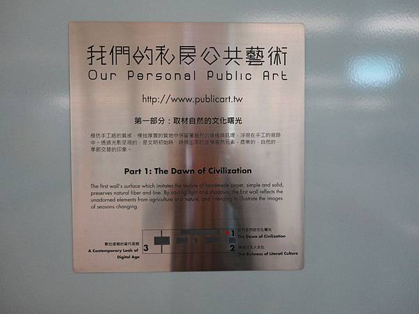 南港展覽館站《我們的私房公共藝術》介紹牌面.JPG