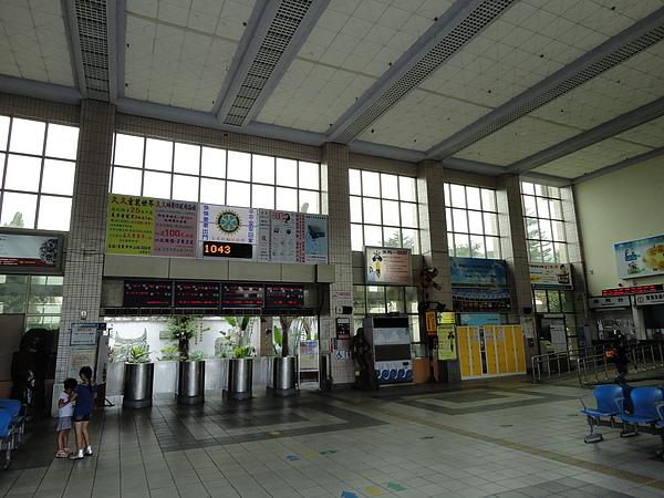 台東站的大廳