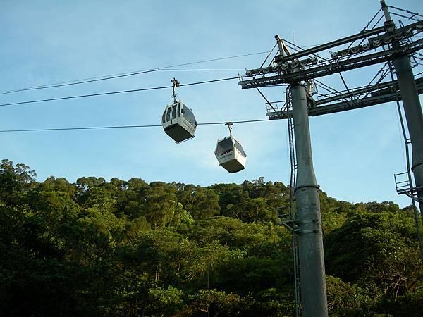 2007年時的貓空纜車