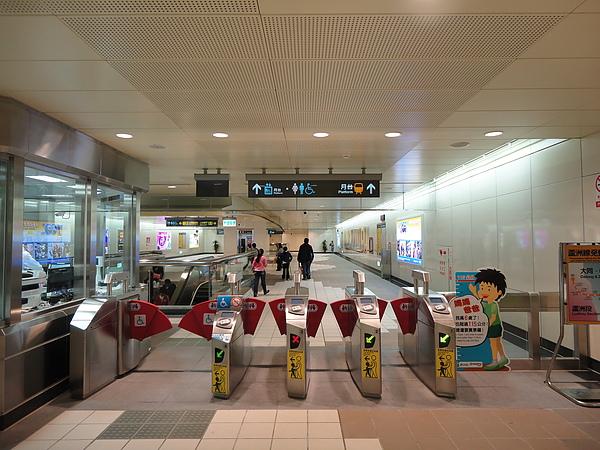 三和國中站的大廳層