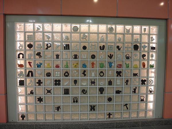 大橋頭站的公共藝術(2)