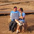 拿著太陽能板在談什麼?