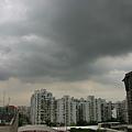 下雨前的天空