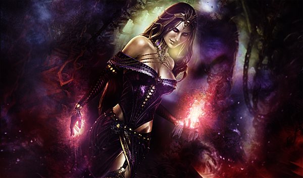 liliana_of_the_veil_mat_by_ribu_of_blood-d4dkhb8