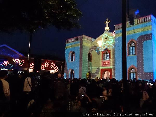 2014萬金教堂光雕秀~(1/4)