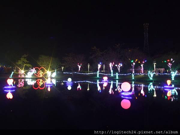 2018溪州公園水上燈節~(12/14)