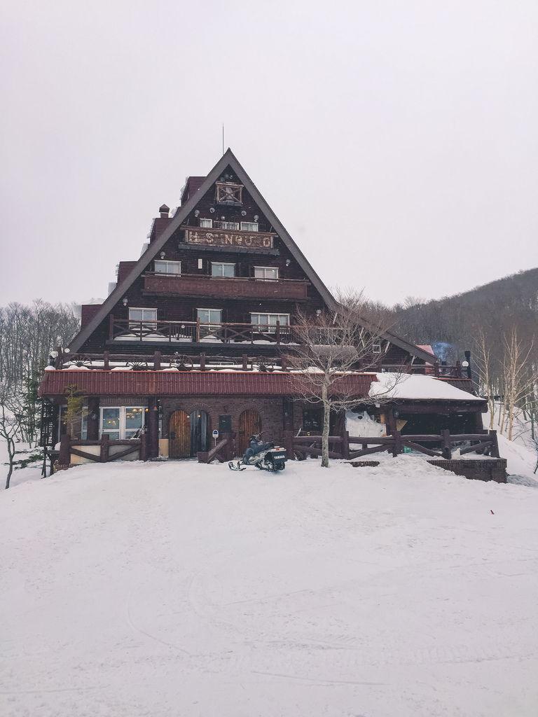 [日本東北自助行]-山形-山頂的三五郎(Forestt inn. SANGORO)小木屋之沒有看到藏王樹冰